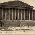 Paris, l'assemblée nationale